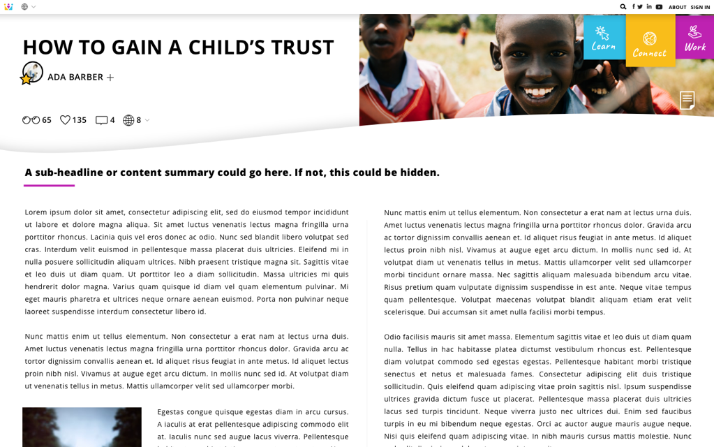 ChildHub Slide 7 - Article